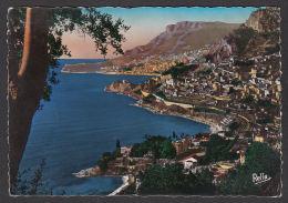 81966/ MONACO, La Principauté Et La Tête De Chien Vues De Roquebrune - Monaco