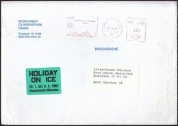 Germany Munich 30.12.1991 / Olympic Games Munich 1972 / Munich Olympic Park / Olimpiapark / Machine Stamp - Summer 1972: Munich