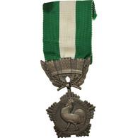 France, Collectivités Locales, Médaille, Non Circulé, Crouzat, Argent, 37 - Army & War