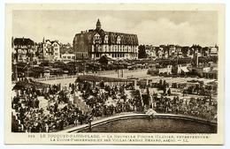 62 : LE TOUQUET PARIS PLAGE - LA NOUVELLE PISCINE, LA DIGUE PROMENADE ET SES VILLAS (LL) - Le Touquet