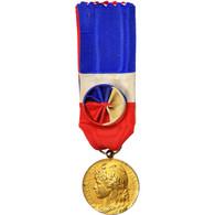 France, Médaille D'honneur Du Travail, Médaille, 1964, Très Bon état - Militares