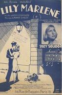 Partition Musicale De 1940 : Lily Marlène Par Suzy Solidor- Ed. Continental - Scores & Partitions