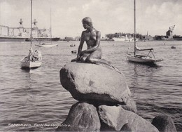 COPENHAGEN. VIEW OF LANGELINIE. RUDOLF OLSEN. CIRCA 1940's- BLEUP - Denemarken