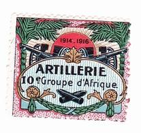 Vignette Militaire Delandre - Artillerie - 10ème Groupe D'Afrique - Erinnofilie