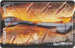Norway - Telenor - Fish Fjellaure - N-218 - 09.2001, 20.000ex, Used - Norway