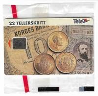 Norway - Telenor - Gold Coins - N-19 - 10.1993, 6.000ex, NSB - Norway