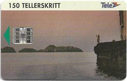 Norway - Telenor - Lofoten - N-023 (C42144129) - 02.1994, 9.500ex, Used - Norway