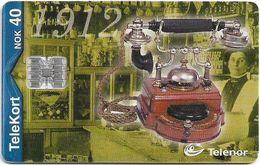 Norway - Telenor - Telefon 1912 - N-170 - (C05139550) 05.2000, 19.983ex, Used - Norway