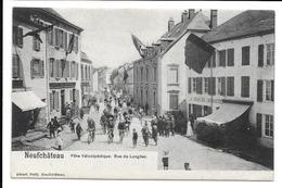 Neufchâteau Fête Vélocipédique Rue De Longlier  A. Petit Non Circulée TTBE - Neufchateau