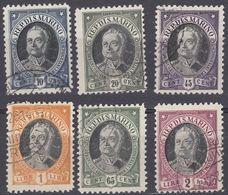 SAN MARINO - 1926 - Serie Completa Usata: Yvert 122/127, 6 Valori, Come Da Immagine. - Oblitérés