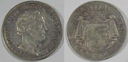 Sachsen-Albertinische Linie, Friedrich August II Saxe Dresde 1 Silber Thaler 1843 G Frédéric II - Taler En Doppeltaler