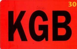 TARJETA TELEFONICA DE DINAMARCA. TDD011, KGB (058) - Dinamarca
