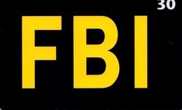 TARJETA TELEFONICA DE DINAMARCA. TDD014, FBI (057) - Dinamarca