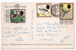 TRINIDAD & TOBAGO - COAST LINE / THEMATIC STAMPS - BIRDS - Trinidad