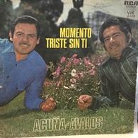 LP Argentino De Acuña - Ávalos Año 1975 - World Music