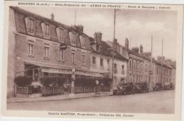 ESSONNES HOTEL RESTAURANT DES ARMES DE FRANCE CAMILLE BASTIDE PROPRIETAIRE TBE - Essonnes