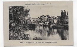 PESMES  EN 1912 - N° 2351 - VUE PRISE DES BORDS DE L' OGNON - CPA  VOYAGEE - Pesmes