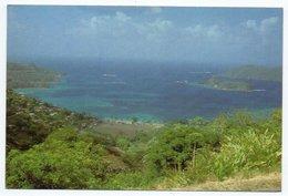 TRINIDAD & TOBAGO - GOAT ISLAND AND LITTLE TOBAGO FROM SPEYSIDE LOOKOUT,TOBAGO / THEMATIC STAMP - BIRD - Trinidad