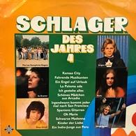 LP Alemán De Artistas Varios Schlager Des Jahres 4 Año 1974 - Vinyl Records