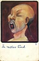 "China, Caricature Chinese Man, ""I'm Rather Tired"" (1904) Tuck Postcard - China"