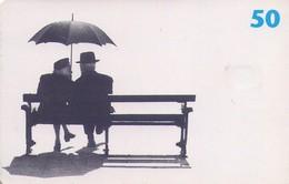 TARJETA TELEFONICA DE DINAMARCA. TDD029, Two People On Bench (014) - Dinamarca