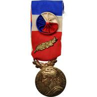 France, Médaille D'honneur Du Travail, Médaille, 1986, Très Bon état - Army & War