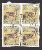 Botswana, Scott #742, Used, Black-backed Jackal, Issued 2002 - Botswana (1966-...)