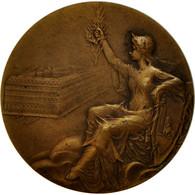 France, Médaille, Art Nouveau, Palais Royal, Rasumny, TTB, Bronze - France