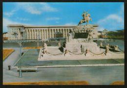 Mongolia - Ulan Bator - Governor's Palace (stereo 3D Postcard) - Mongolia