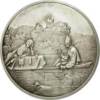 France, Médaille, Pelletiers Sur Le Missouri, George Caleb Bingham, SUP+ - France