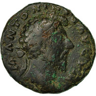 Monnaie, Marc Aurèle, As, 175-176, Roma, TB+, Bronze, RIC:1196 - 3. The Anthonines (96 AD To 192 AD)