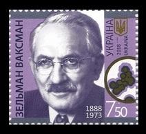 Ukraine 2018 Mih. 1704 Medicine. Nobel Laureate Selman Waksman MNH ** - Ukraine