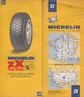 Carte Michelin N°67 - Nantes Poitiers - 1976 - Roadmaps