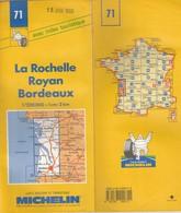 Carte Michelin N°71 - La Rochelle Royan Bordeaux - 1994/1995 - Roadmaps