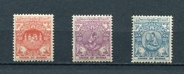 MYANMAR BIRMA BURMA 1954 Mi # 140 - 142 First Anniversary Of Independence, Value In New Currency MNH - Myanmar (Birma 1948-...)