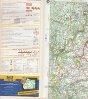 Carte Michelin N°76 - Aurillac Le Puy - 1994/1995 - Roadmaps
