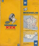 Carte Michelin N°84 - Marseille Menton - 1979 - Roadmaps