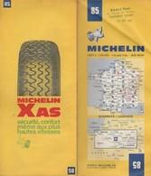 Carte Michelin N°85 - Biarritz Luchon  - 1972 - Roadmaps