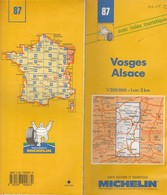 Carte Michelin N°87 - Vosges Alsace - 1993 - Roadmaps