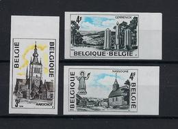 N°1734ND/1736ND (genummerd 649) MNH ** POSTFRIS ZONDER SCHARNIER COB € 30,00 SUPERBE - Belgique