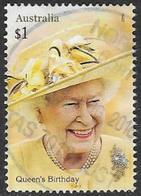 Australia 2016 Queen's 90th Birthday $1 Sheet Stamp Good/fine Used [37/31117/ND] - 2010-... Elizabeth II