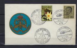 N°1524 GESTEMPELD OP Souvenier-omslag Internationale Luchtvaartmeeting 1970 SUPERBE - Luftpost