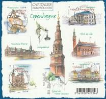 FRANCE 2012 BLOC OBLITERE CAPITALES EUROPEENNES COPENHAGUE - F4637  F 4637 -                          TDA253 - Blocks & Kleinbögen