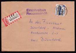 GERMANY Postal History Cover, Registered Used 3.12.1990 From 4030-Ratingen-2 - BRD
