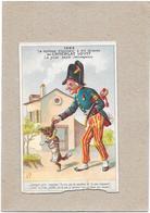 CHROMO LOUIT FRERES Et Cie BORDEAUX - CHOCOLAT LOUIT  - 1882 Diplôme Honneur - Garde Champêtre   - BARA**  - - Louit