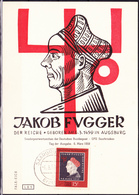 Saargebiet Saar Sarre - Fugger  (MiNr: 445) 1959 - FDC - FDC