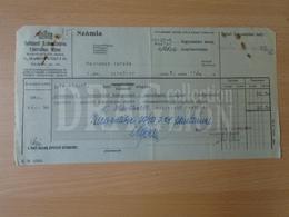 DC31.6  Hongrie Budapest Margitsziget Mauthner - Remplacement Du Compteur De Courant  1940 - Invoices & Commercial Documents