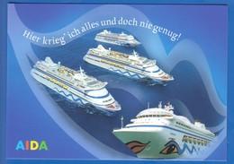 Schiffe; Aida - Dampfer