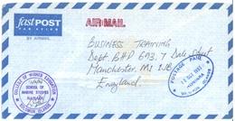 SOLOMON ISLANDS - AIRMAIL - 13.10.1993 - FROM RANADI TO ENGLAND   - Lot 17533 - Salomon (Iles 1978-...)