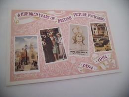 100 Ans De Cartes Postales Britanniques....avec LADY DIANA - Evénements